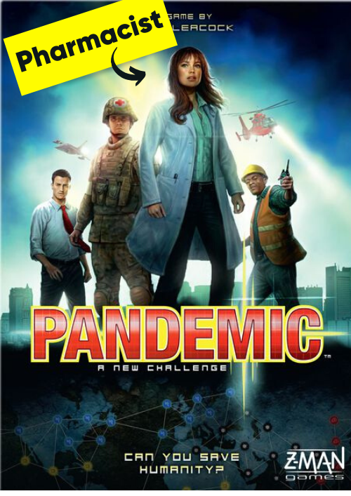 Roles of a Pharmacist in a Pandemic